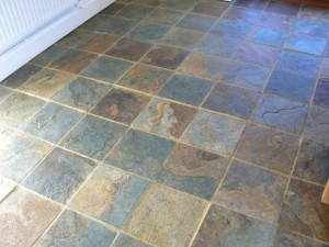 Slate Floor Cleaning Restoration Service In Cheshire
