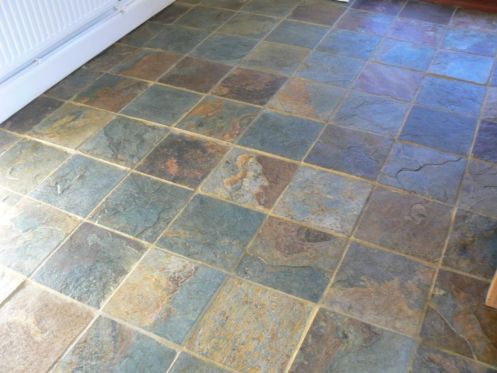 Slate floor cleaning and sealing service in the cheshire area for Floor to floor carpet