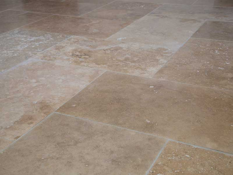 Limestone Or Travertine Tile : Travertine and limestone floor tile cleaning service cheshire