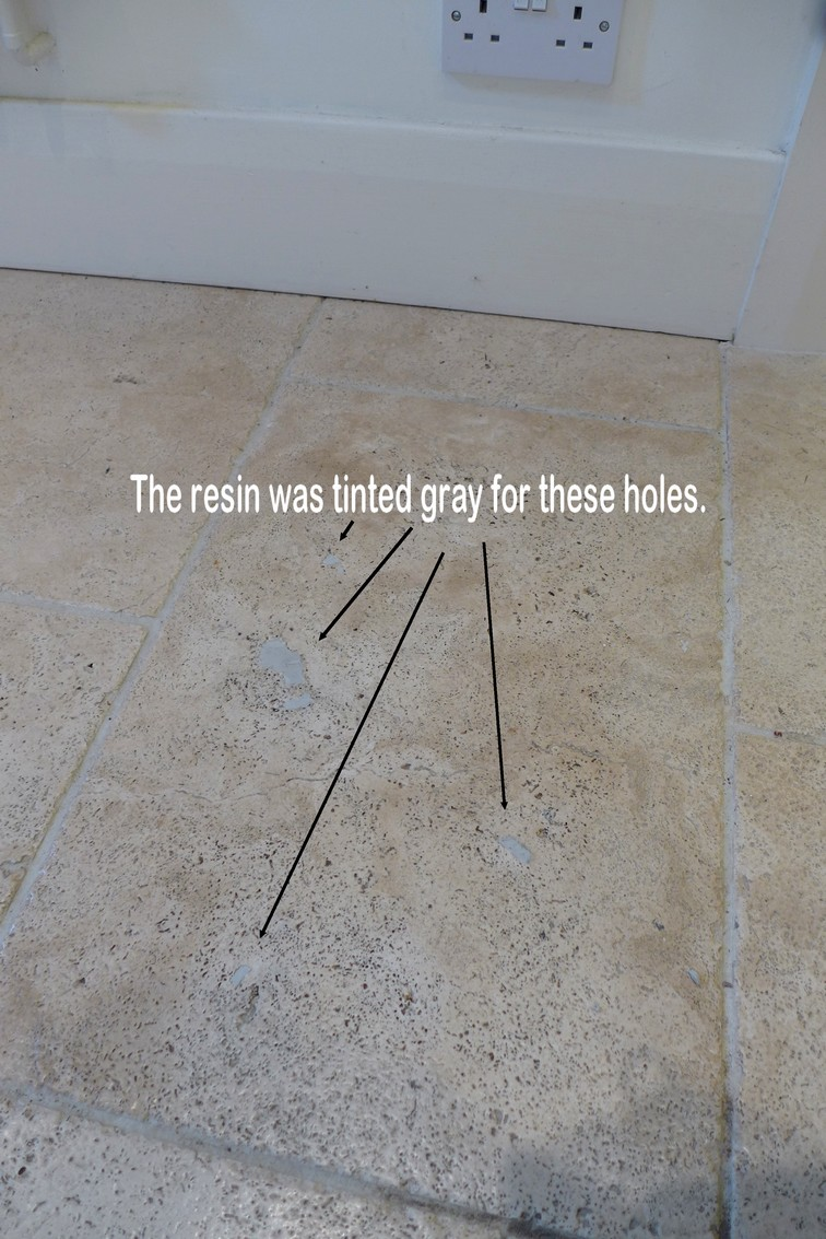 How To Fill Amp Repair Holes In Travertine Amp Limestone Floor