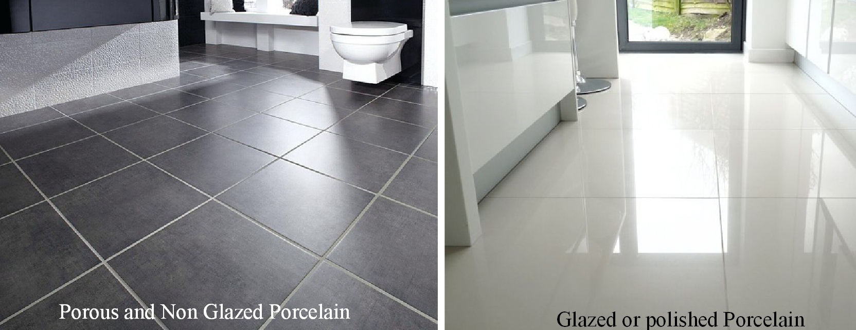 Porcelain Floor tile cleaning in Cheshire