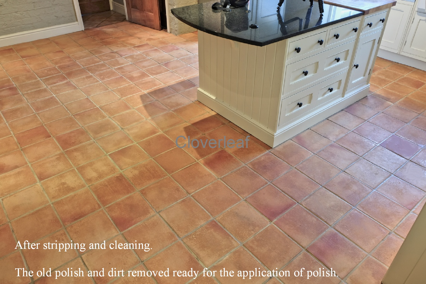 Terracotta floor cleaning Middlewich