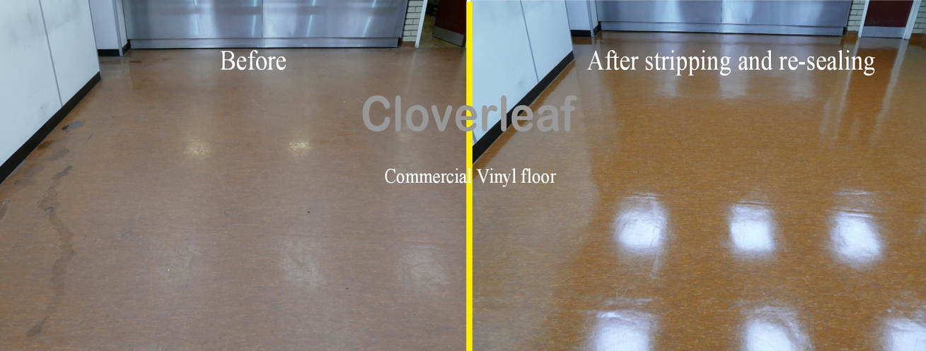 commercial floor before and after resized
