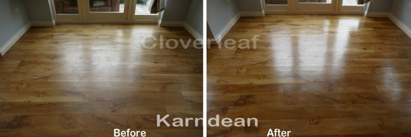 Karndean floor cleaning Cheshire