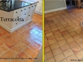terracotta floor cleaning