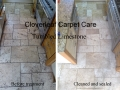 tumbled limestone floor cleaning