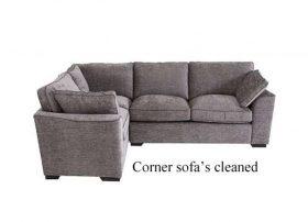 corner sofa cleaning