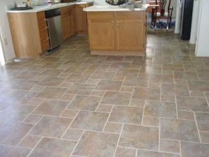 Floor tile cleaning