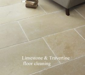 Limestone & Travertine floor cleaning
