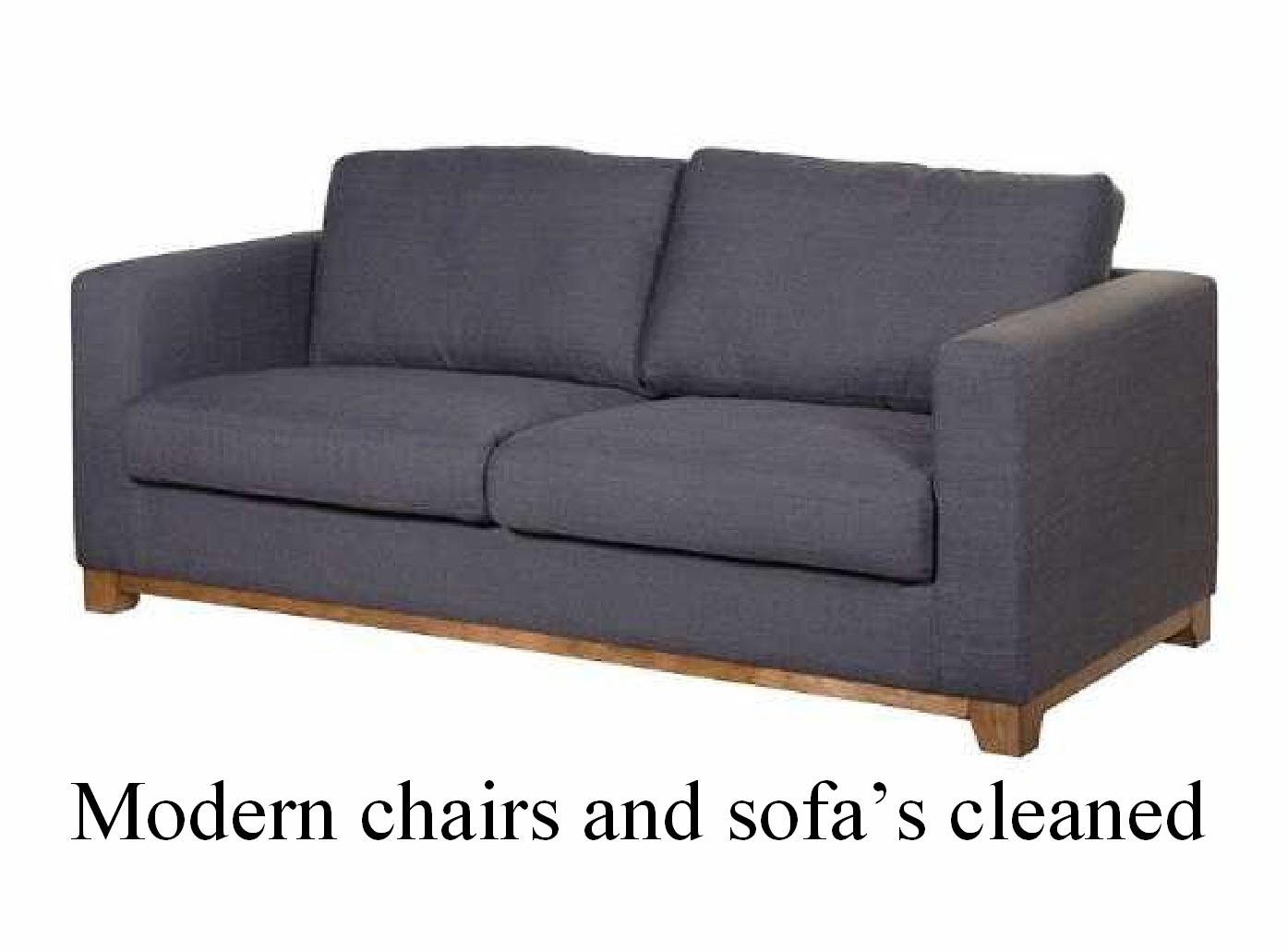 modern upholstery cleaned
