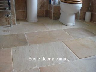 Stone floor cleaning Congleton