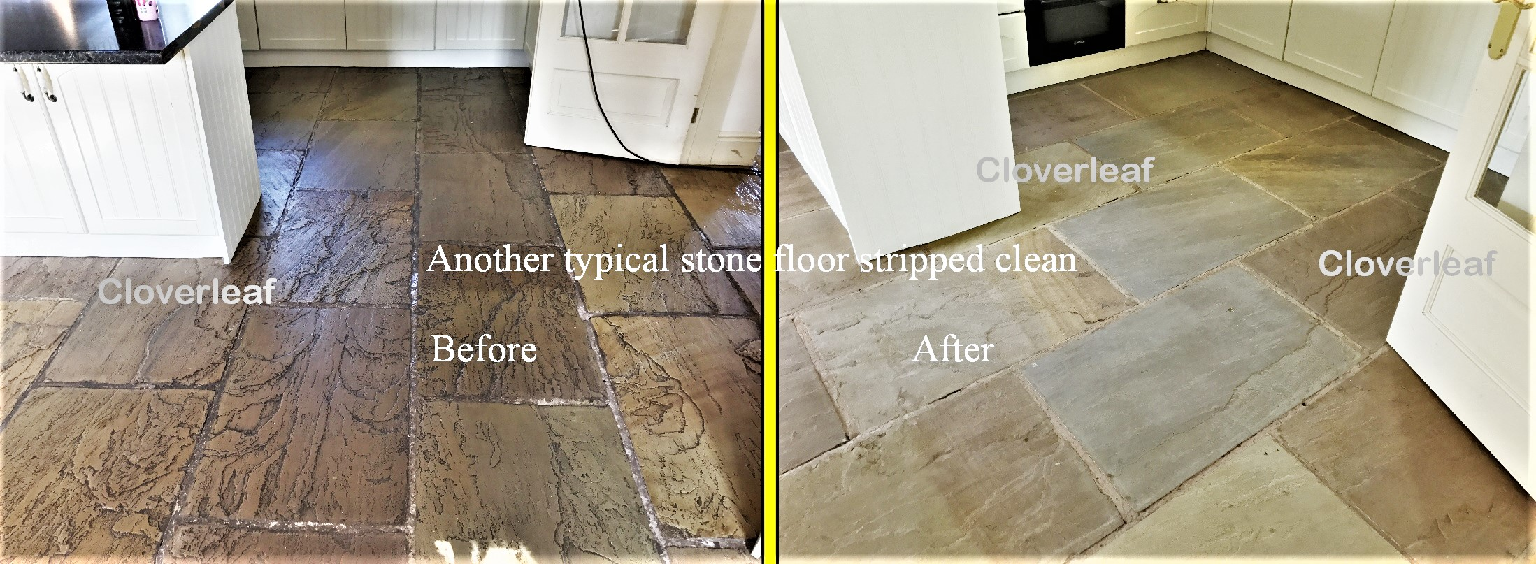 York Stone cleaning Cheshire