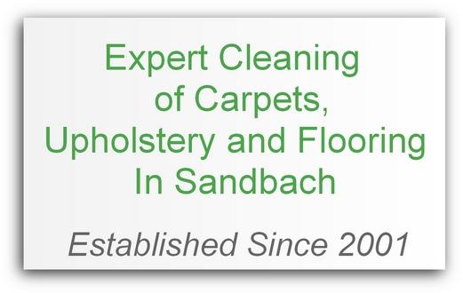 carpet cleaning Sandbach