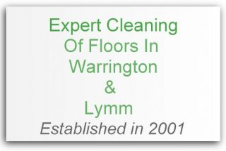 floor cleaning Warrington