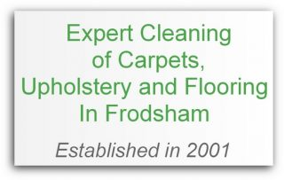 Carpet cleaning Frodsham