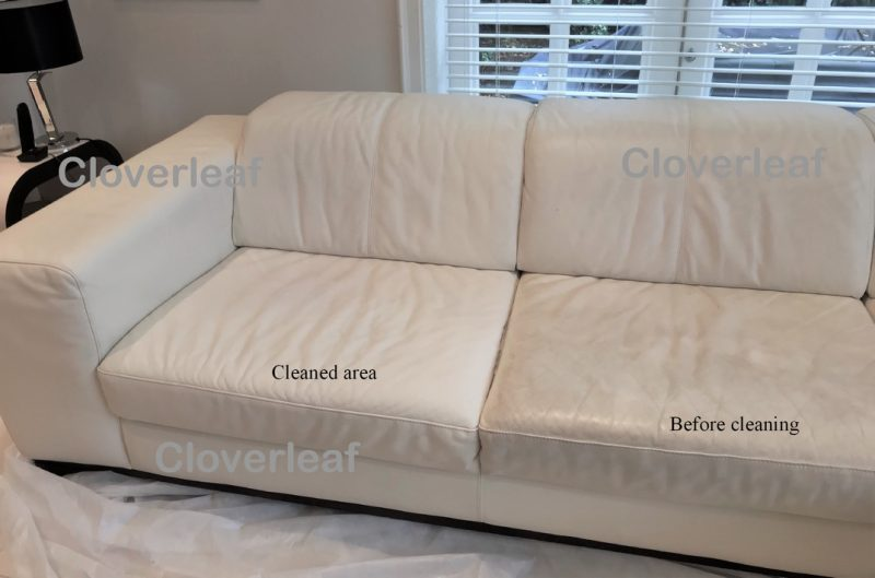 leather sofa cleaning