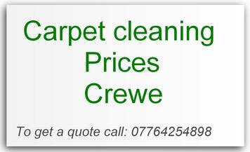 carpet cleaning prices Crewe