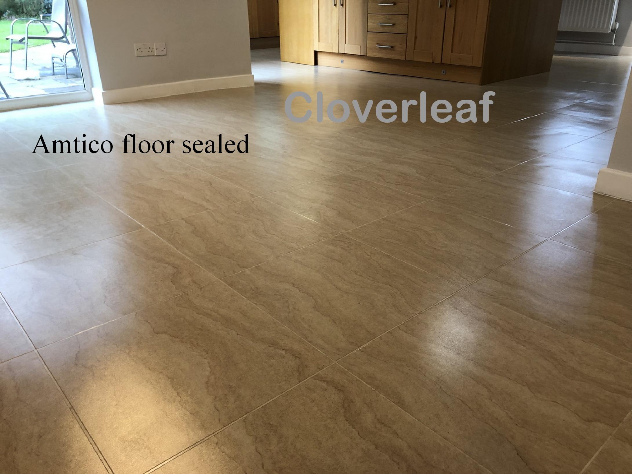 Amtico floor with seal