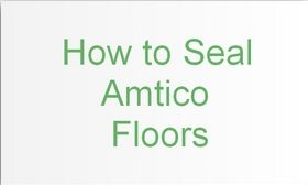 how to seal Amtico floors