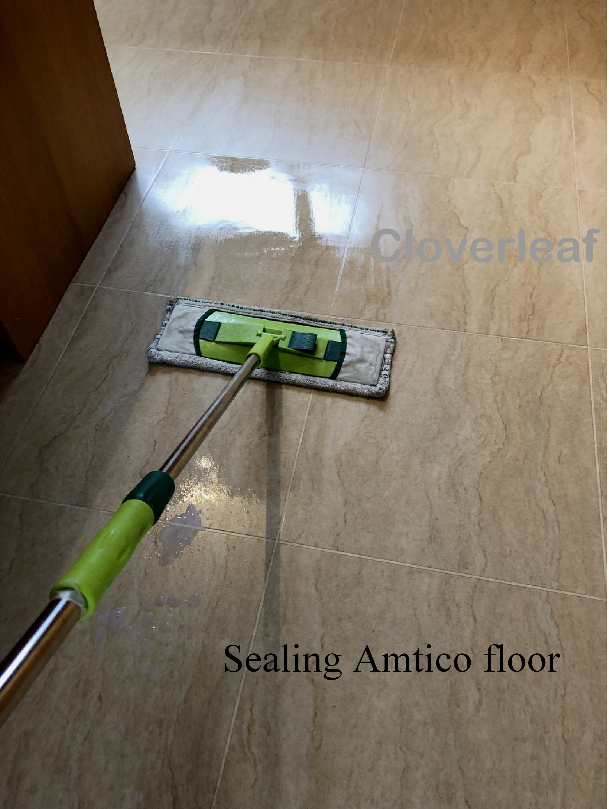 how to seal Amtico floor