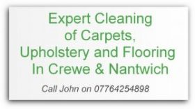carpet cleaning Crewe