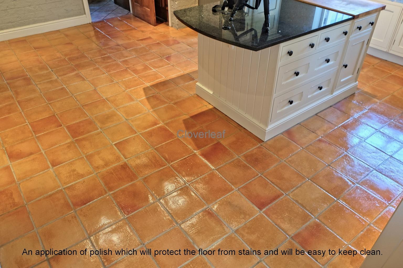 Terracotta floor cleaning Wilmslow