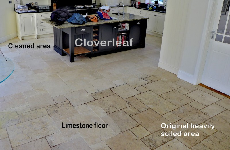 Limestone Floor Tiles Cleaned Cheshire Travertine Stone Cleaning