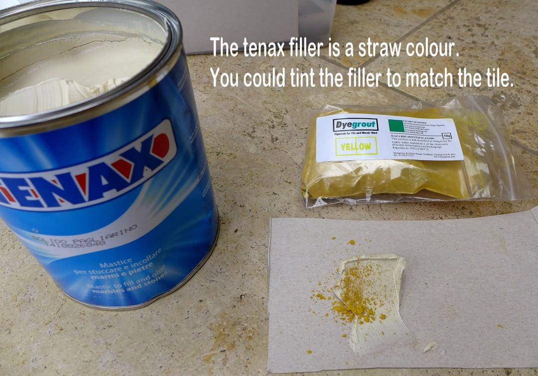 Tenax floor filler