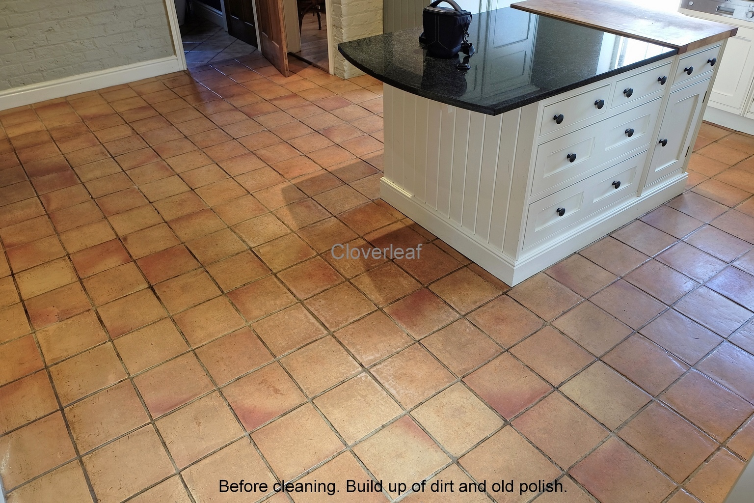 Terracotta floor cleaning Northwich