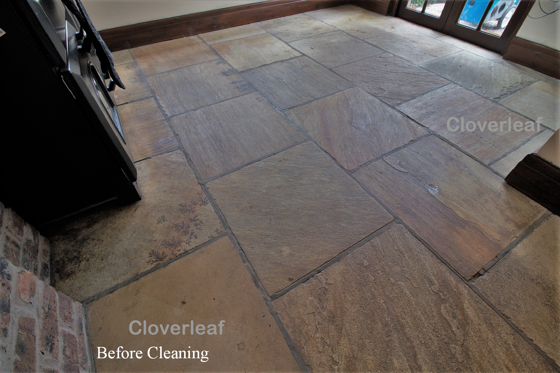 Sandstone floor cleaning Cheshire