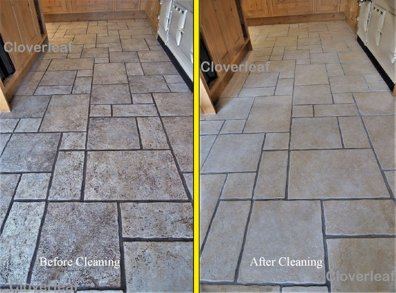 Cheshire floor tile cleaning