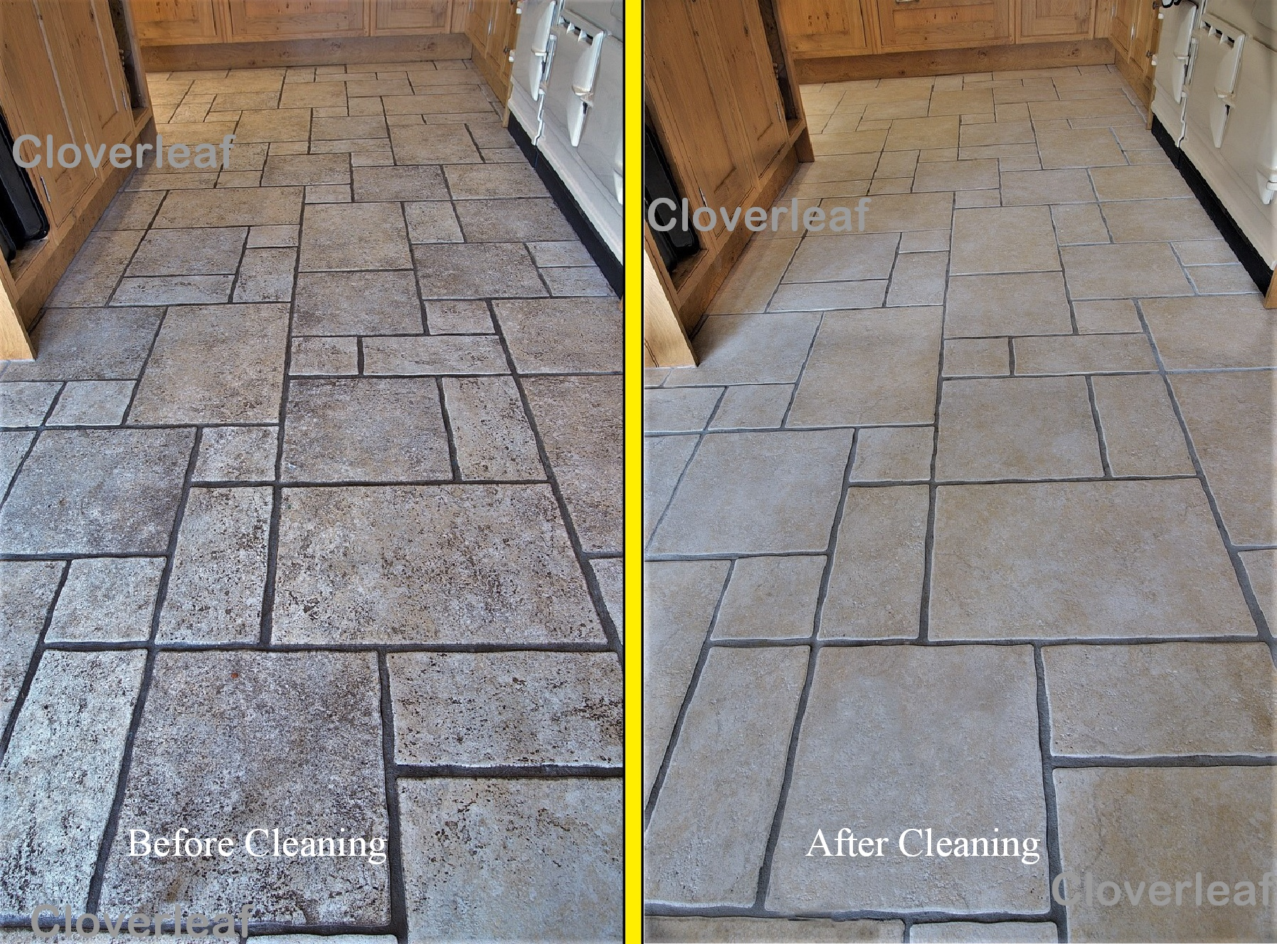 Floor tile cleaning in Cheshire