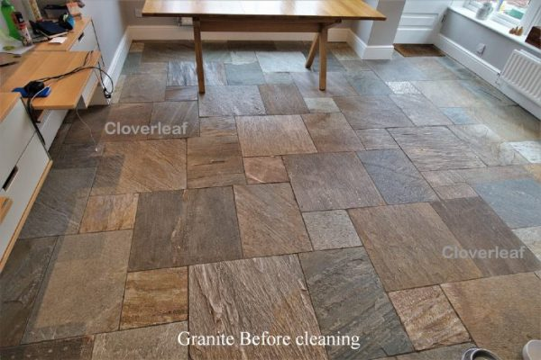 Granite stone floor cleaning Cheshire