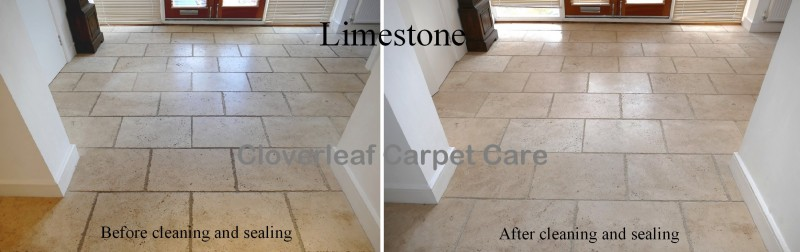 Limestone floor cleaning Alderley Edge Cheshire