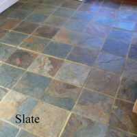 Slate Floor Cleaning